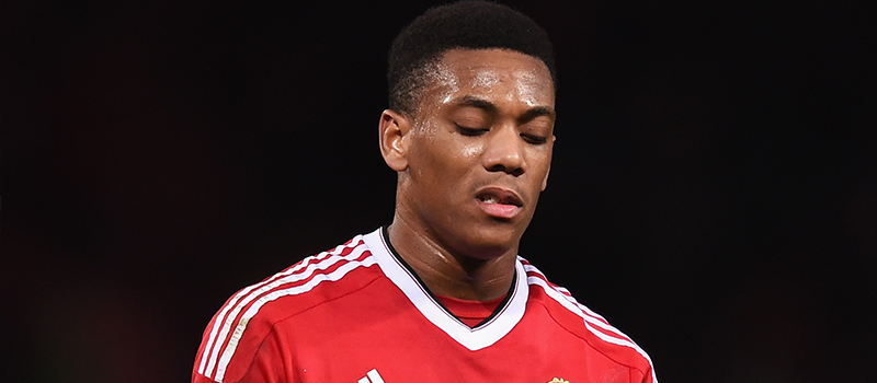 Anthony Martial's performance against PSV Eindhoven frustrates Manchester United fans