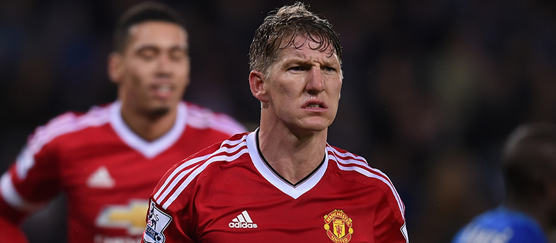 Louis van Gaal feels Bastian Schweinsteiger isn't as good as he was at Bayern Munich