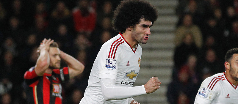 Manchester United fans baffled by Marouane Fellaini substitution