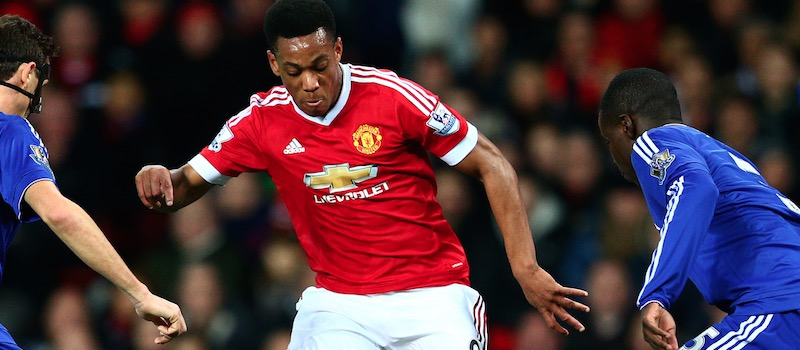 Manchester United fans pleased with Anthony Martial's display against Chelsea