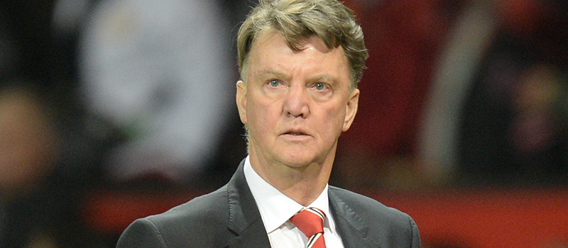 Louis van Gaal refuses to be drawn on exit rumours