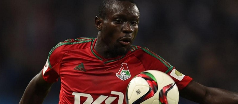 Manchester United scout Lokomotiv Moscow's Oumar Niasse whose heart is set on England