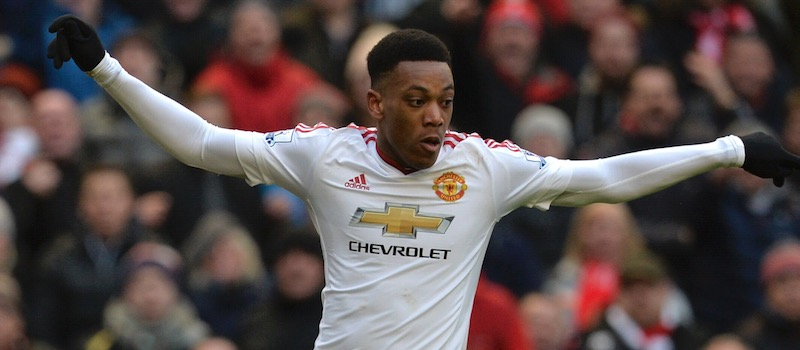 Anthony Martial offered Manchester United an outlet against Liverpool