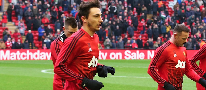Manchester United's Matteo Darmian dismisses exit rumours