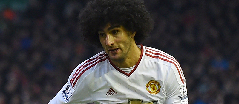 Man United fans pleased with Marouane Fellaini's performance against West Ham