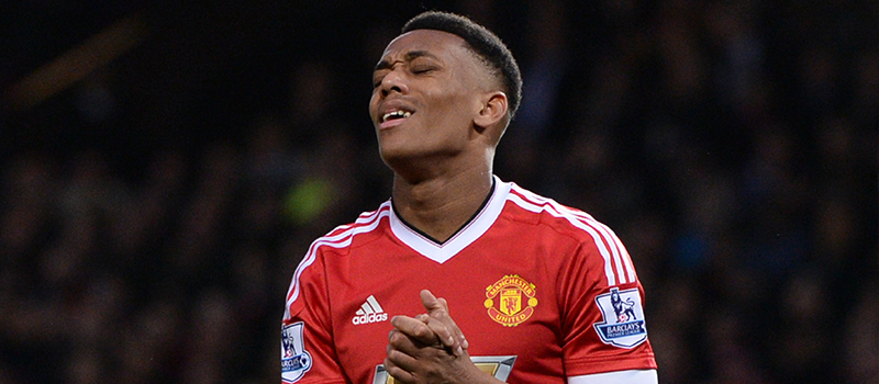 Subdued Anthony Martial disappoints Manchester United fans following display against Southampton