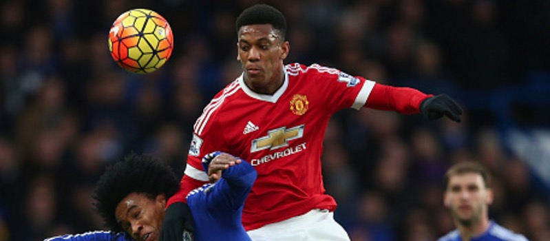 Anthony Martial inspired by Eric Cantona and Patrice Evra at Manchester United