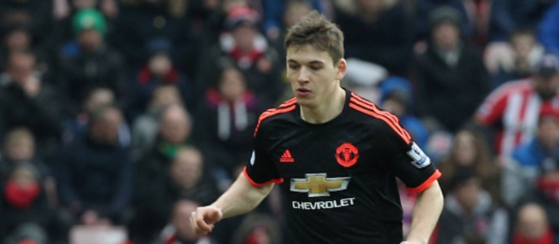 Donald Love suffers injury with Manchester United's U21s against Middlesbrough