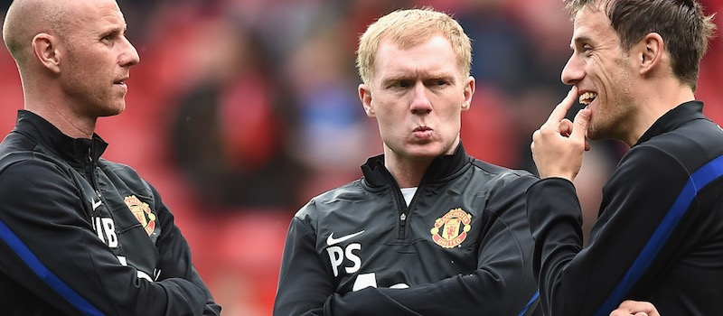 Paul Scholes revealed he applied to become Manchester United U23s manager, but club rejected him