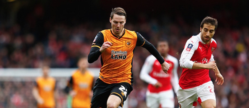 Nick Powell suffers hamstring injury during Hull City training session