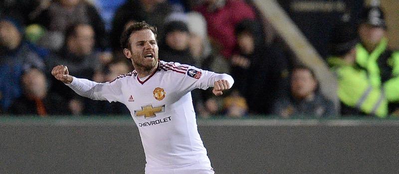 Juan Mata named Man of the Match against Shrewsbury and thanks away fans
