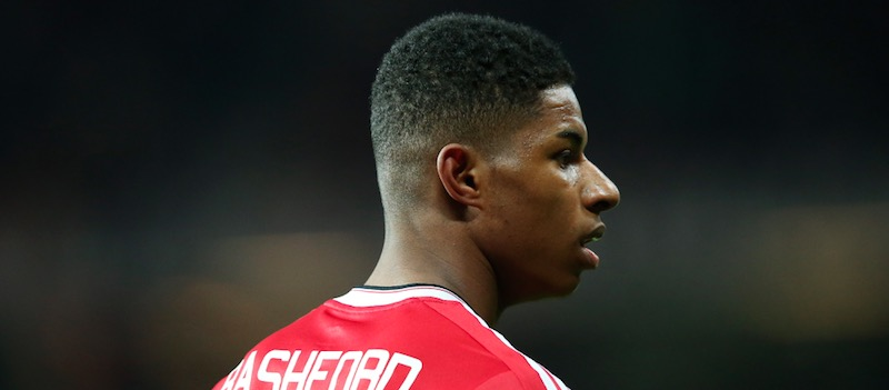 Marcus Rashford will start on the bench against Arsenal says Louis van Gaal