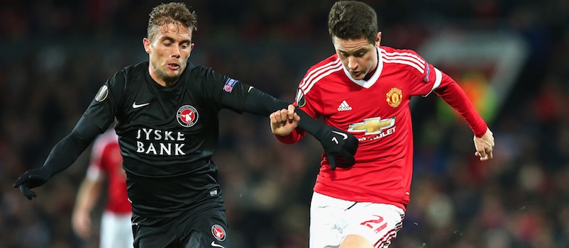 Ander Herrera praises Manchester United's young players