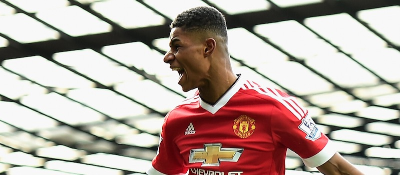 Louis van Gaal: Marcus Rashford is not injured