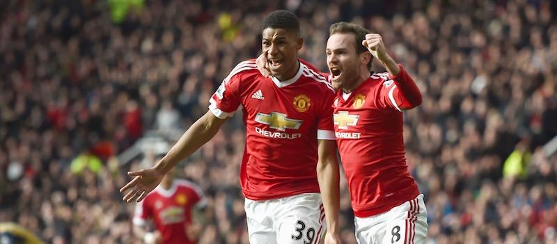 Louis van Gaal dismisses notion Marcus Rashford saved his job at Manchester United