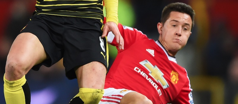 Ander Herrera happy to be back in Manchester United squad for Everton