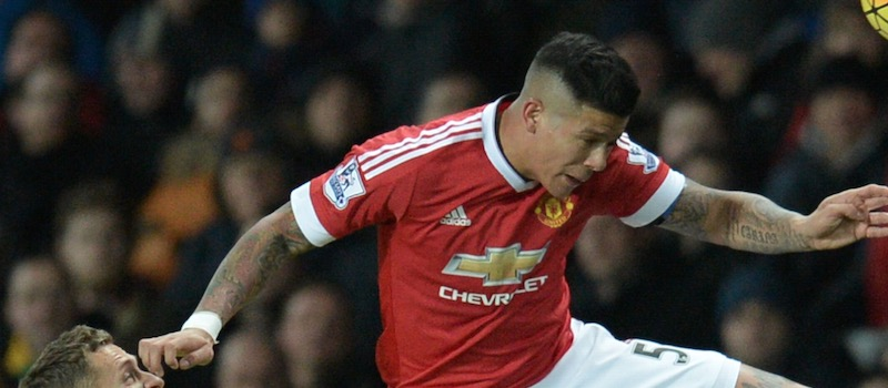 Manchester United fans criticise Marcos Rojo following performance against Everton