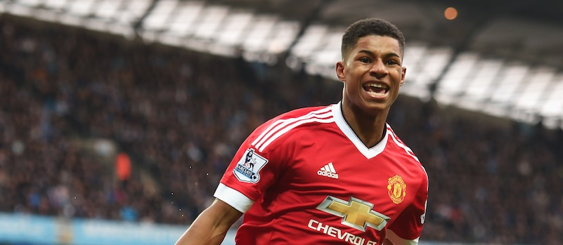Manchester United fans delighted with excellent Marcus Rashford performance against Manchester City
