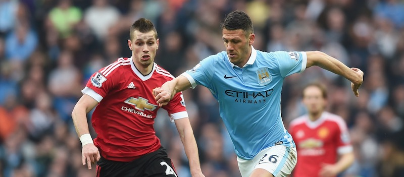 Louis van Gaal refuses to praise Morgan Schneiderlin too much following performance against Manchester City