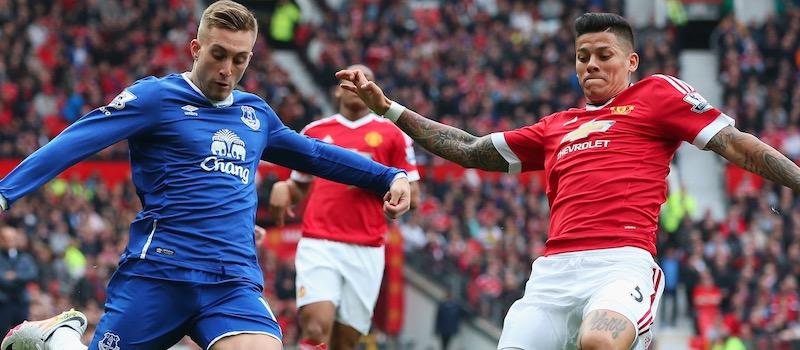 Louis van Gaal: Marcos Rojo was jet lagged against Everton