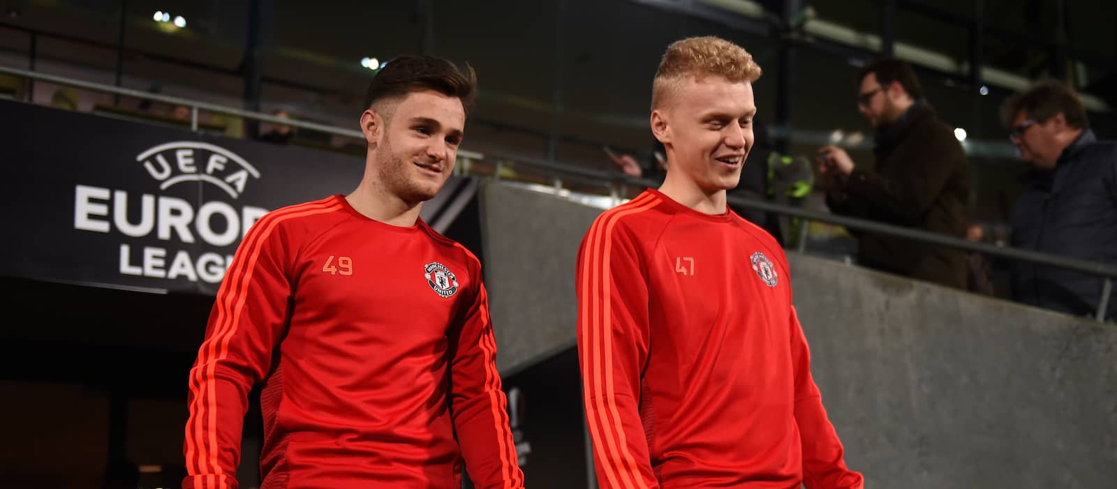 James Weir: It's a 'great' time to be in Manchester United's academy