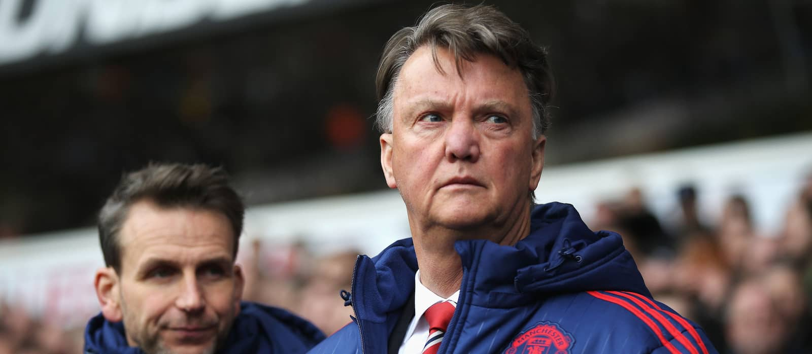 Louis van Gaal plays all four attackers out of position against Spurs