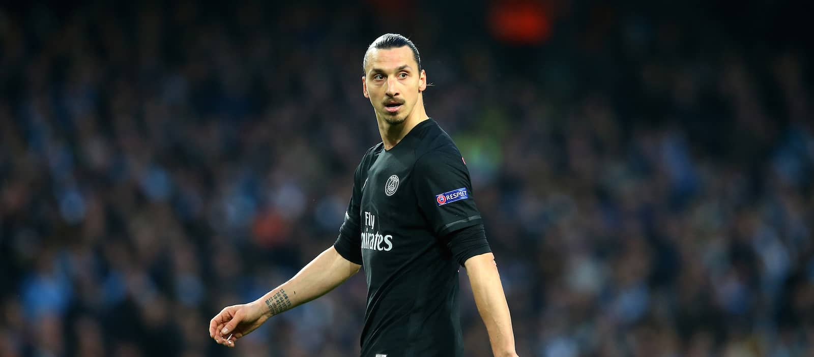 Zlatan Ibrahimovic invisible as PSG lose to Man City in Champions