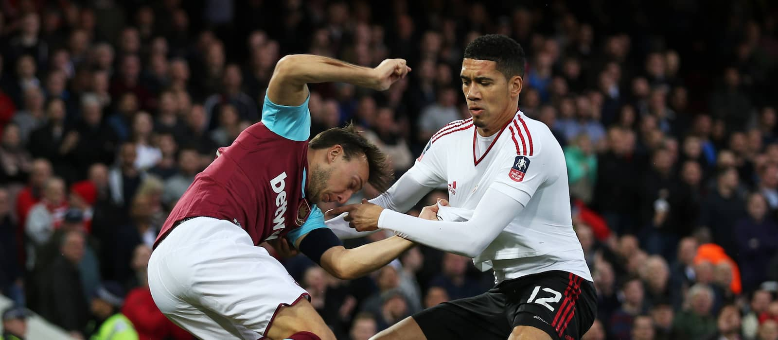 Chris Smalling expects to be fit for Everton FA Cup semi-final clash