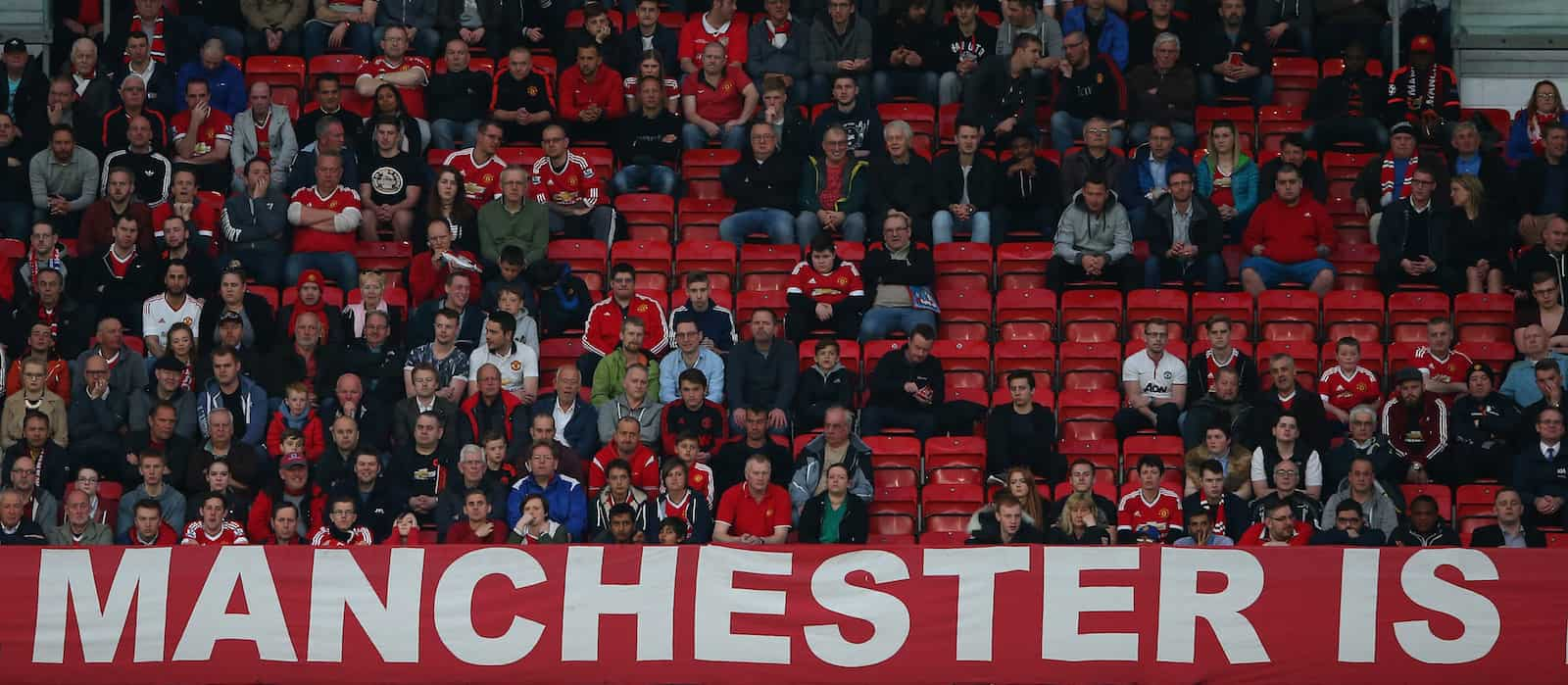 Have Man United fans lost faith in van Gaal? Empty seats at Old Trafford