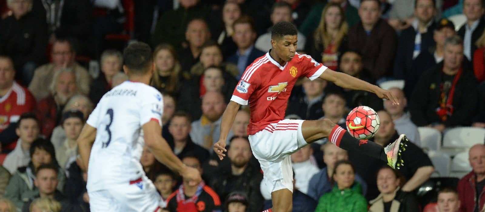 Photo: Man United's Marcus Rashford training ahead of Leicester City game