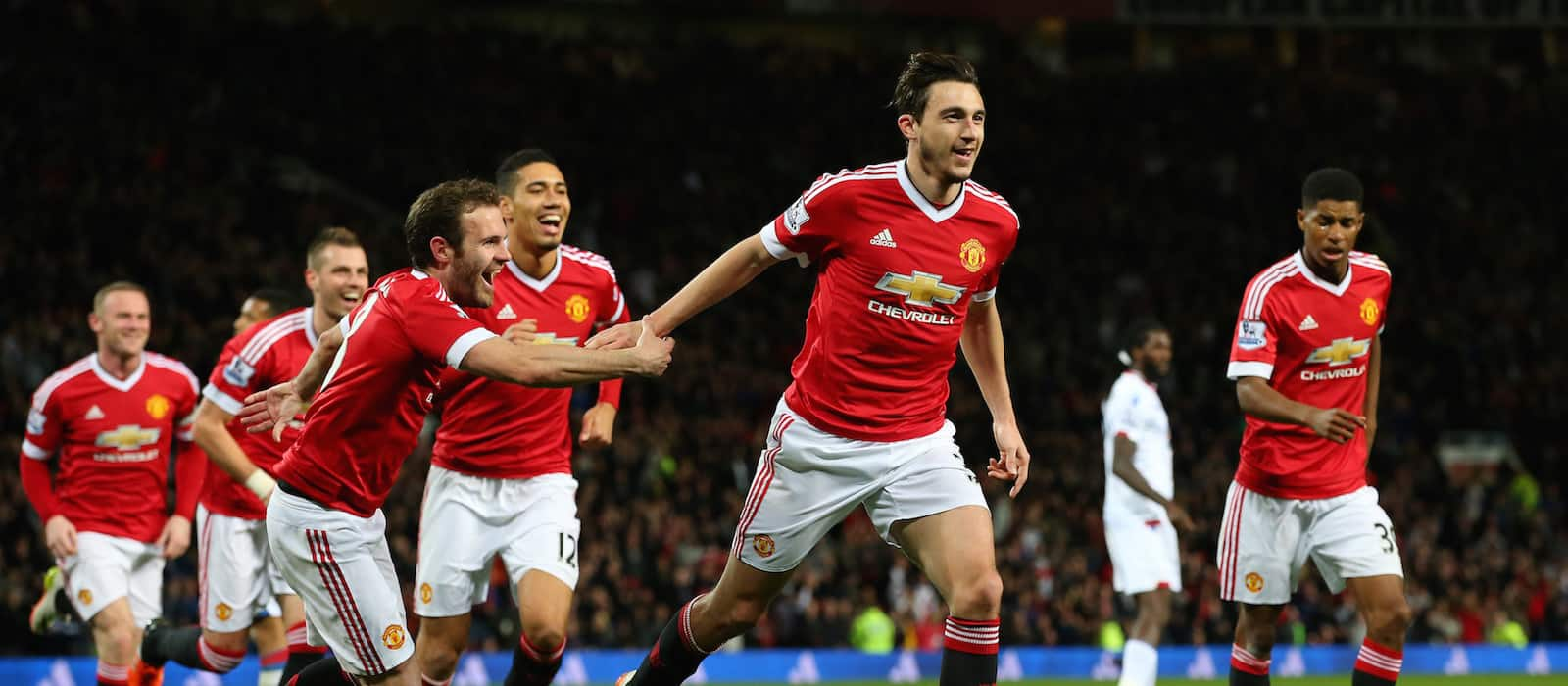 Matteo Darmian puts in all round performance against Crystal Palace