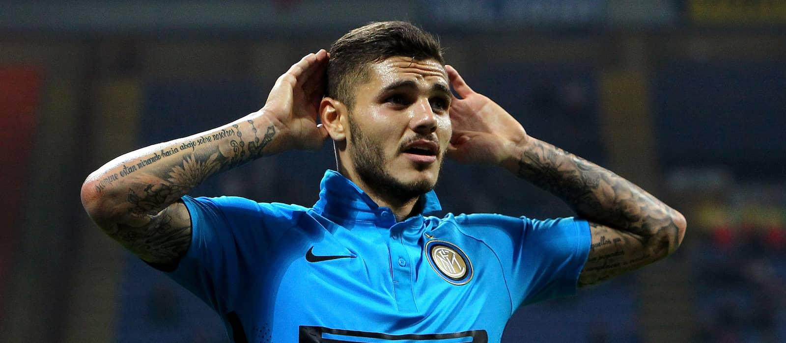 Rumoured Manchester United target Mauro Icardi hints at Inter Milan exit