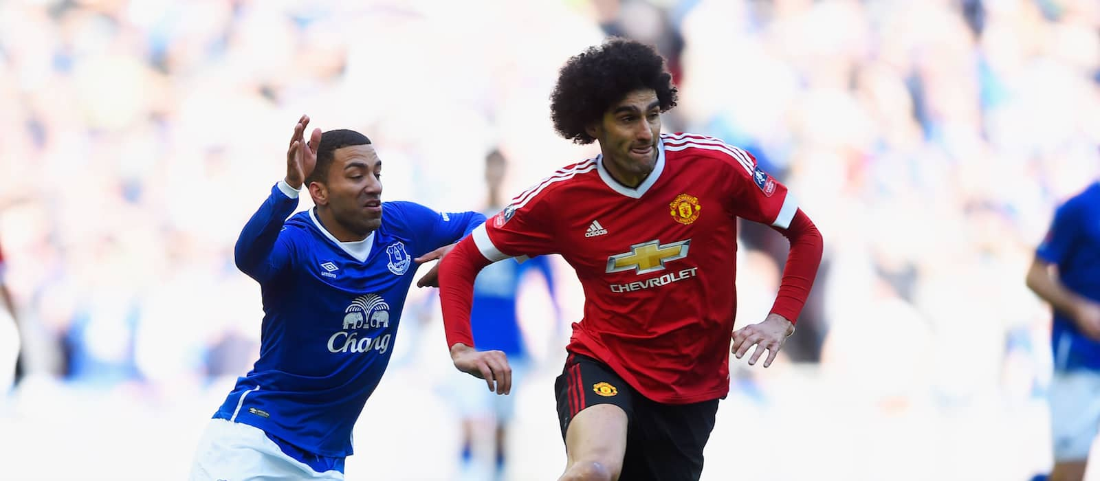 Manchester United midfielder Marouane Fellaini excited to return to Wembley in the FA Cup final