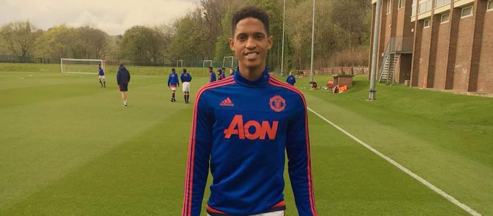 Keith Groeneveld back in Belgium after Manchester United trial