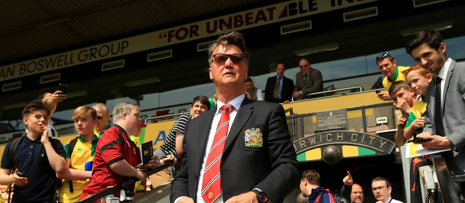 Louis van Gaal slams Manchester United chief executive Ed Woodward for the manner of his sacking