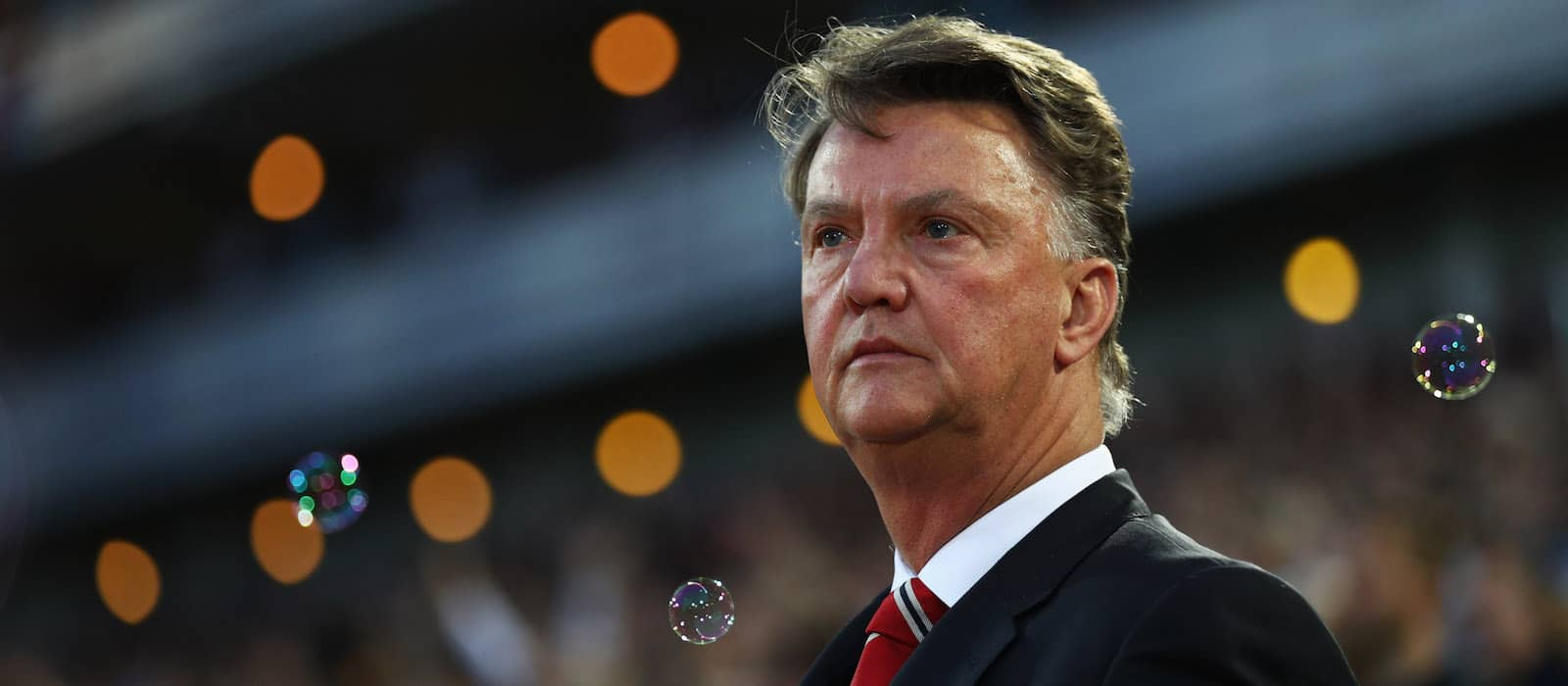 Manchester United fans furious with Louis van Gaal's 'expectations' comments