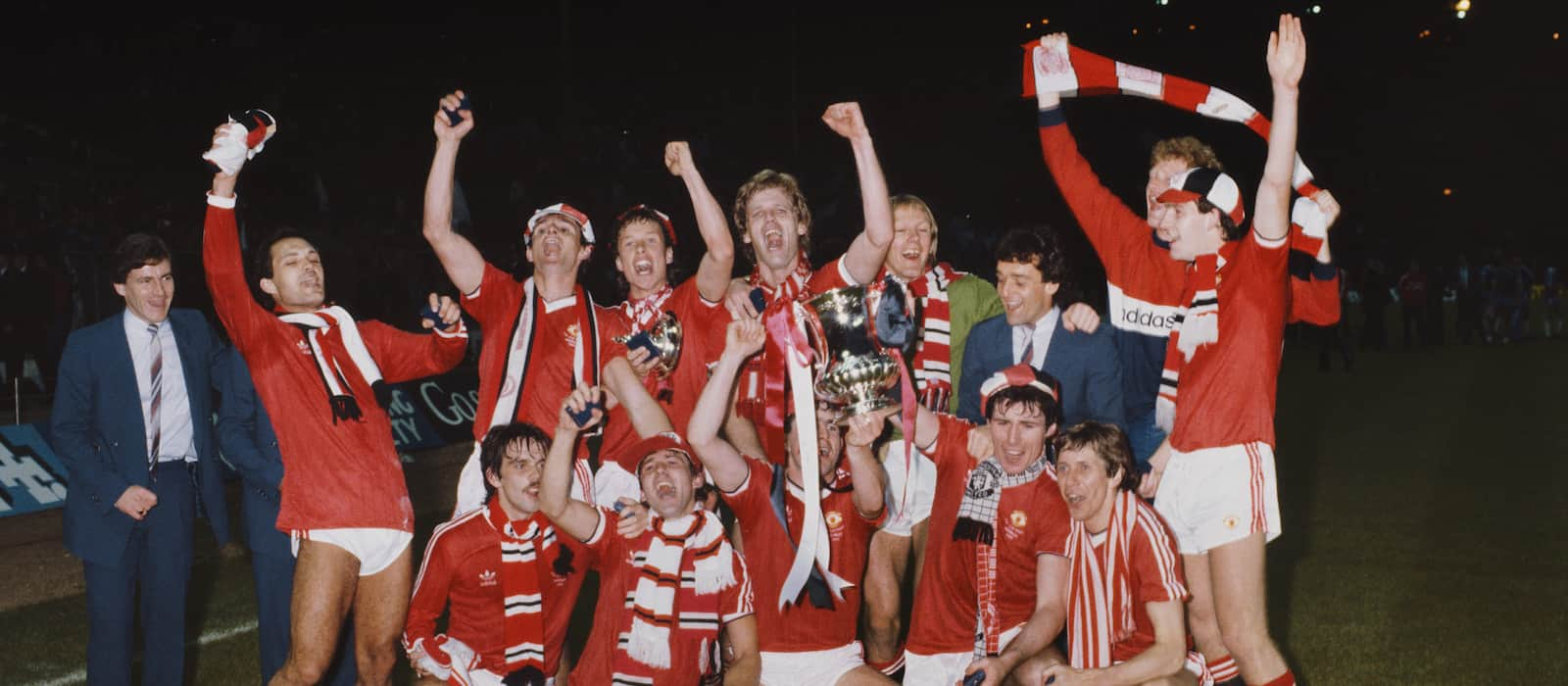 FA Cup Final Series 1982/3: Manchester United 4-0 Brighton (2-2 replay)