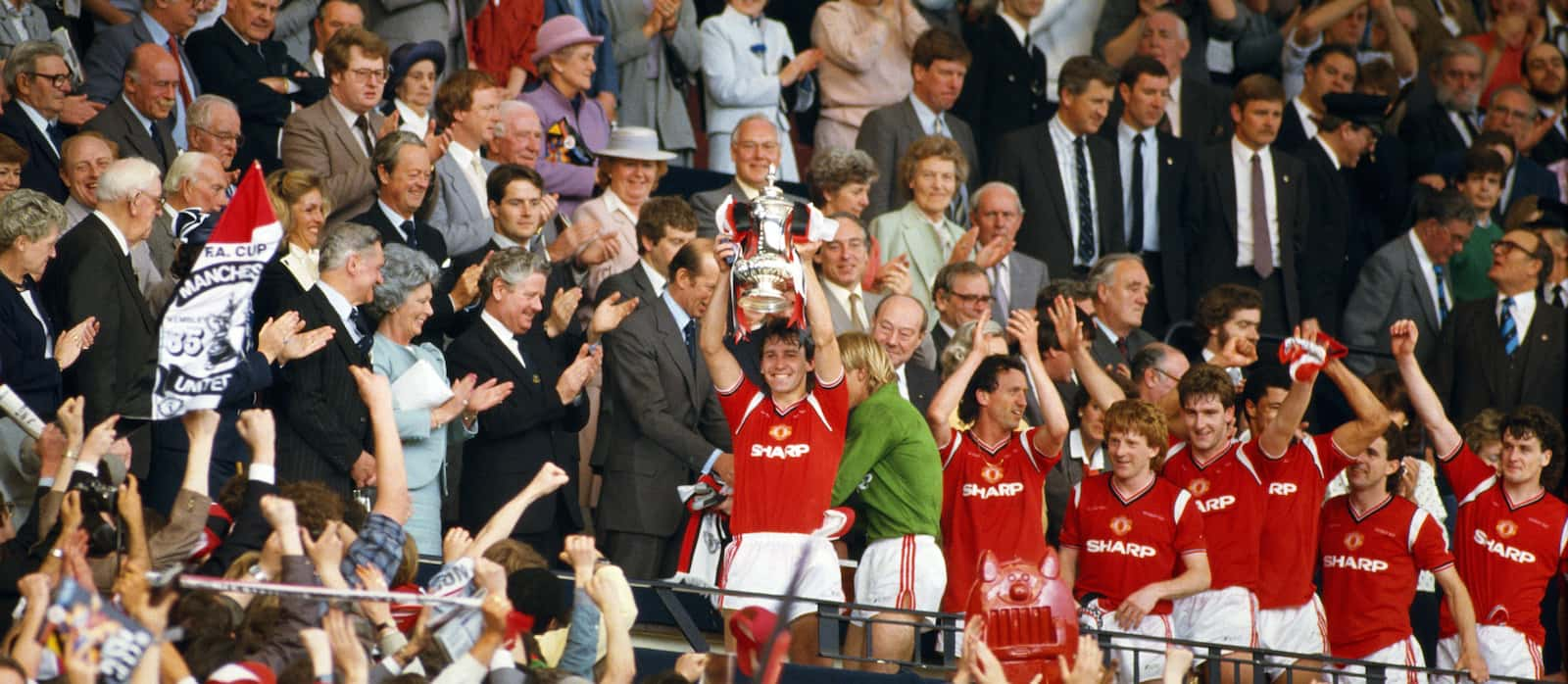FA Cup Final Series 1984/5: Everton 0-1 Man United