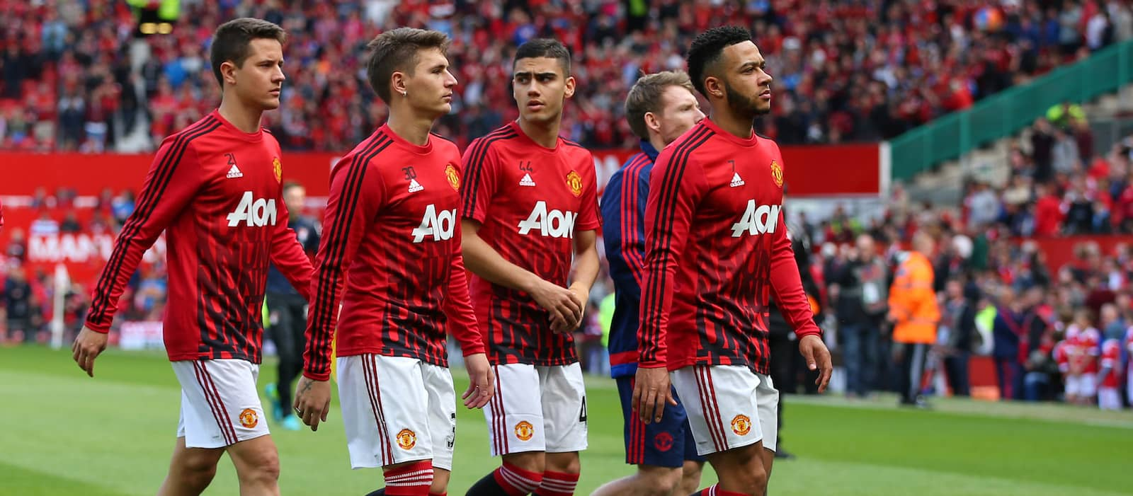 Memphis Depay trains with Manchester United as transfer questions loom large