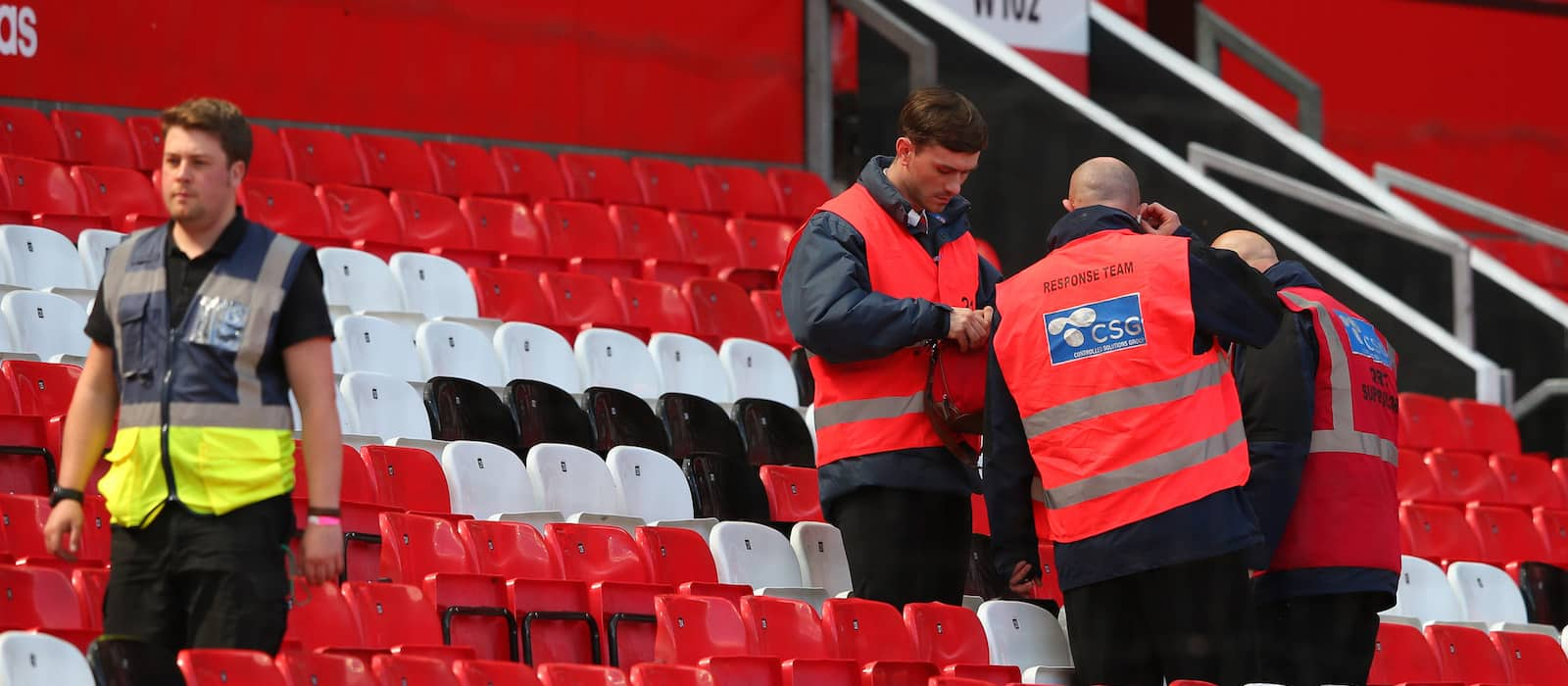 Gallery: Man United players leave Old Trafford after abandoned Bournemouth game