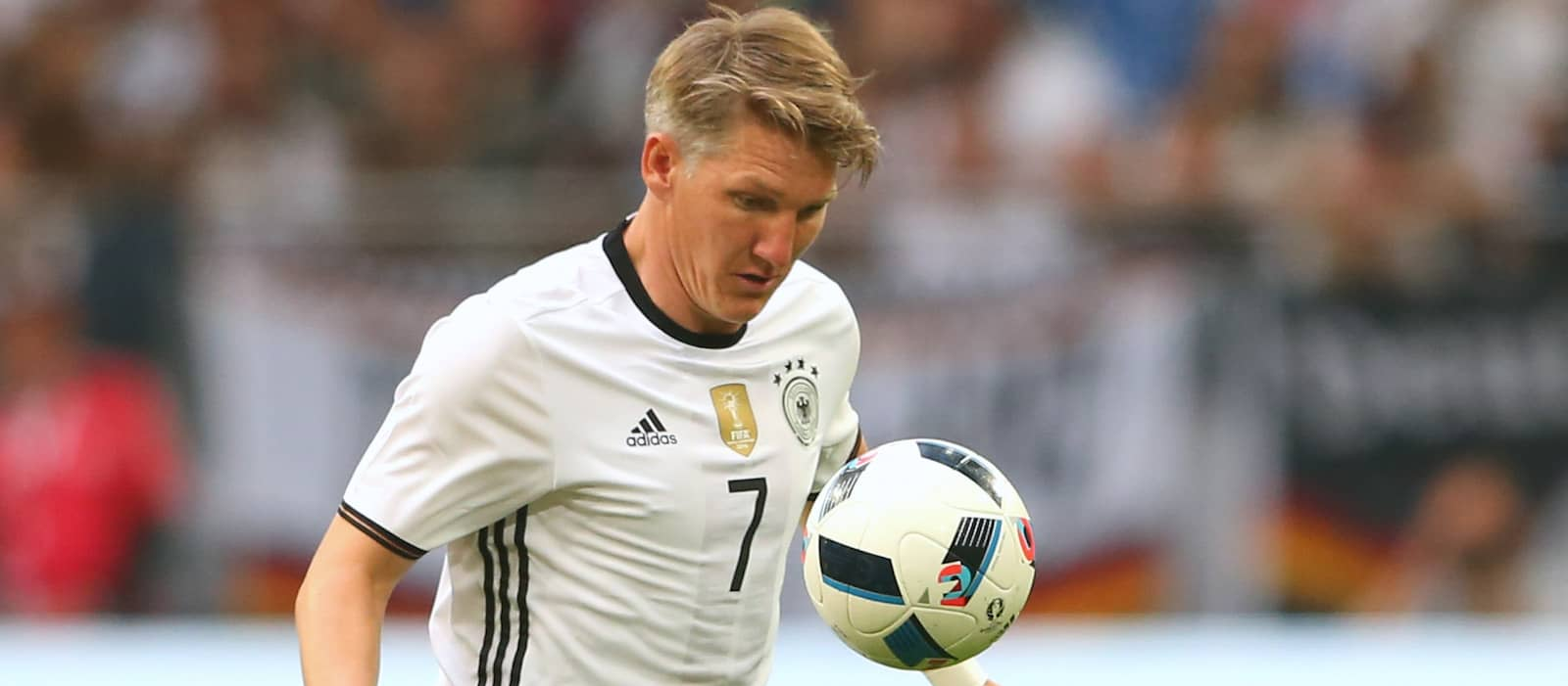 Man United midfielder Bastian Schweinsteiger admits he's feeling fit and healthy