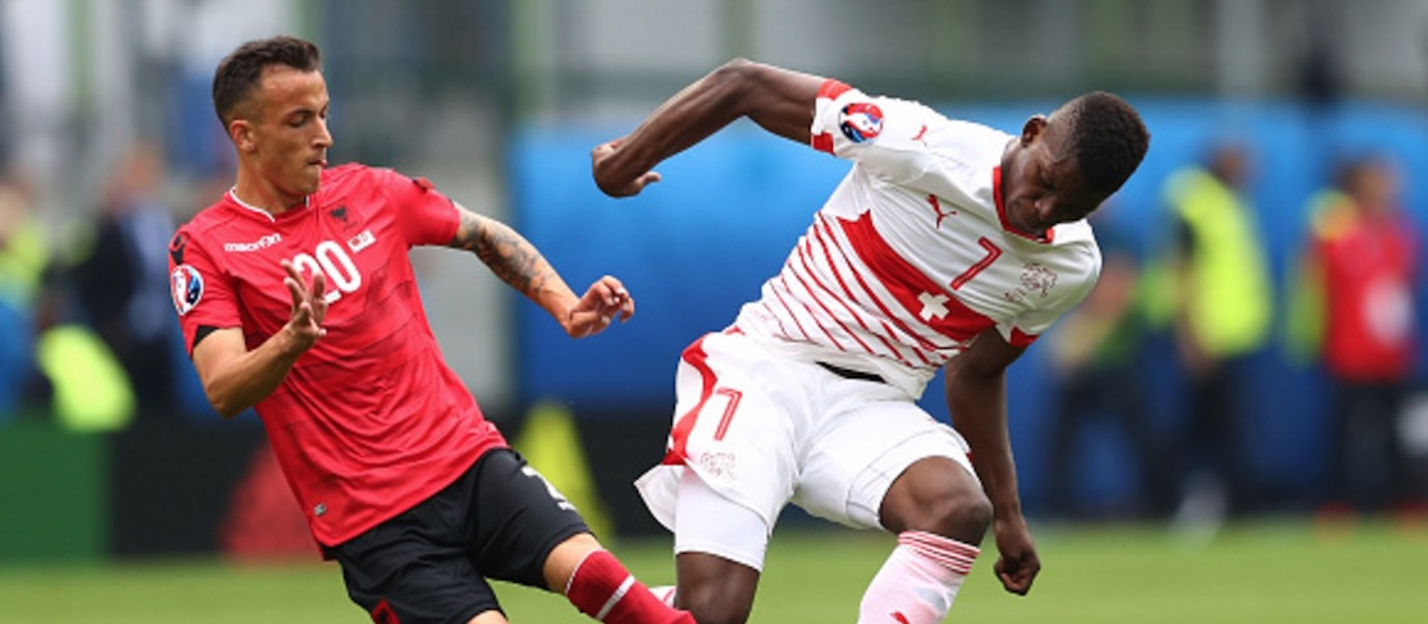 Manchester United fans impressed by Breel Embolo following display for Switzerland