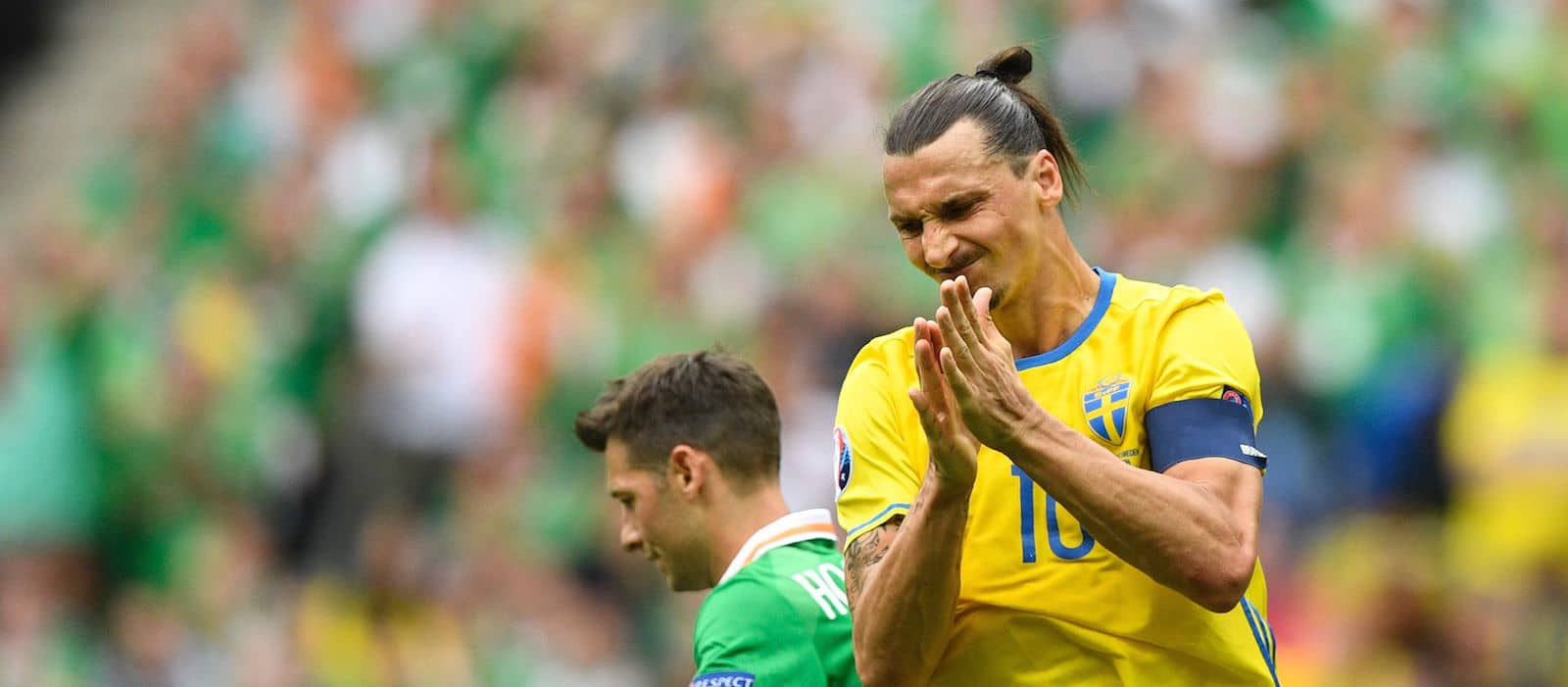Zlatan Ibrahimovic helps Sweden earn draw against Ireland in Euro 2016 opener