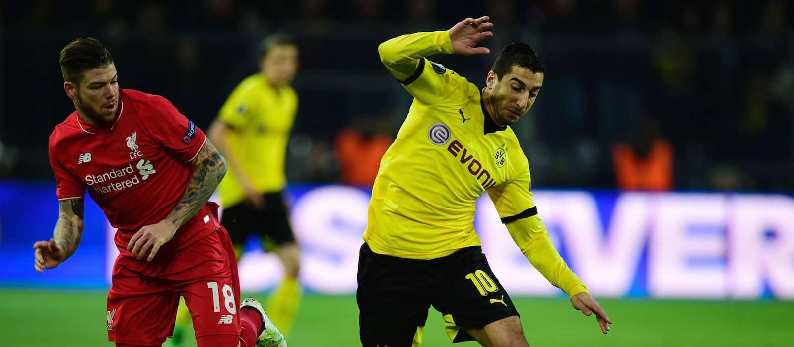 Borussia Dortmund block Manchester United's move for Henrikh Mkhitaryan