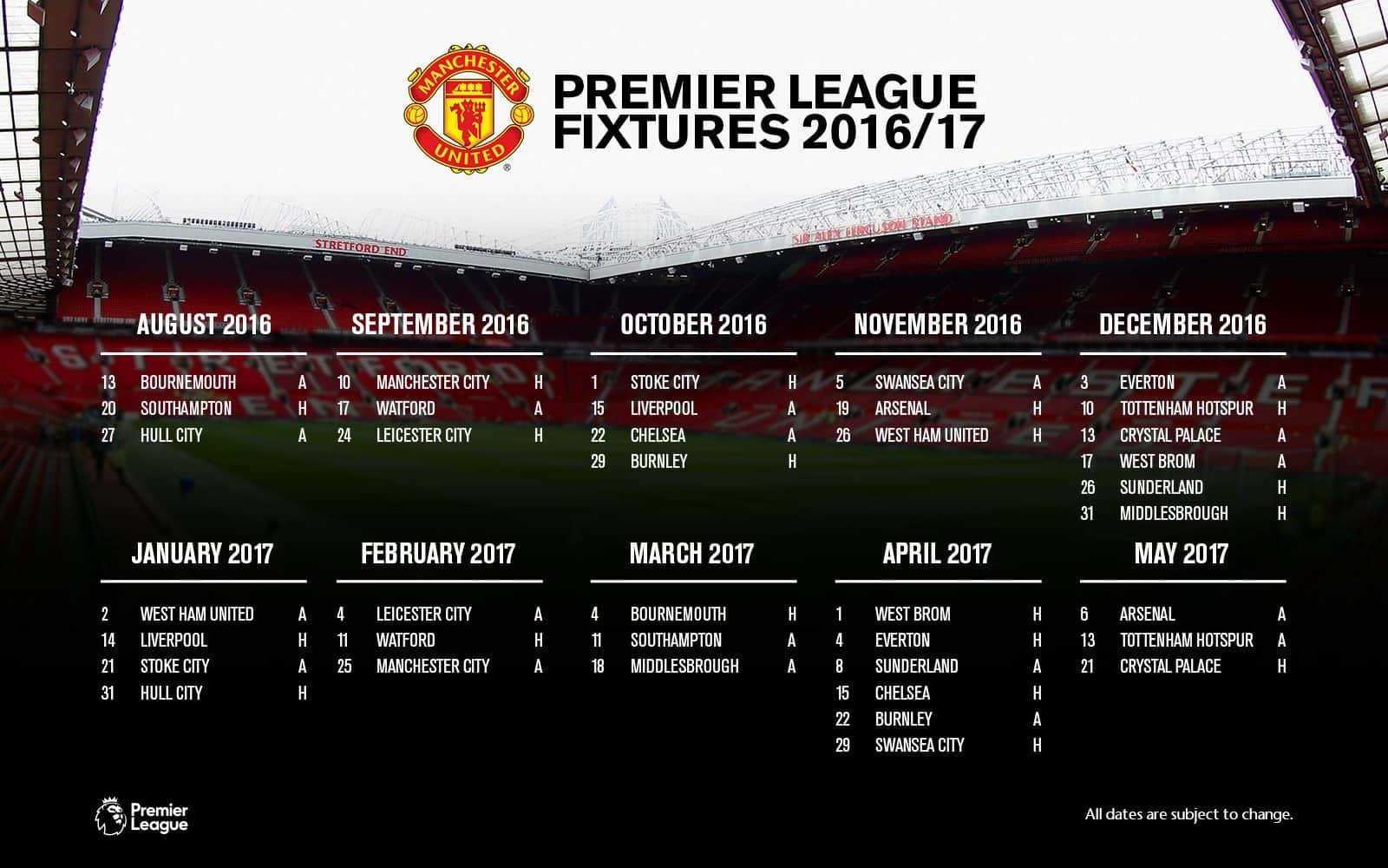 September 2018 epl fixtures dishworld sports epl results