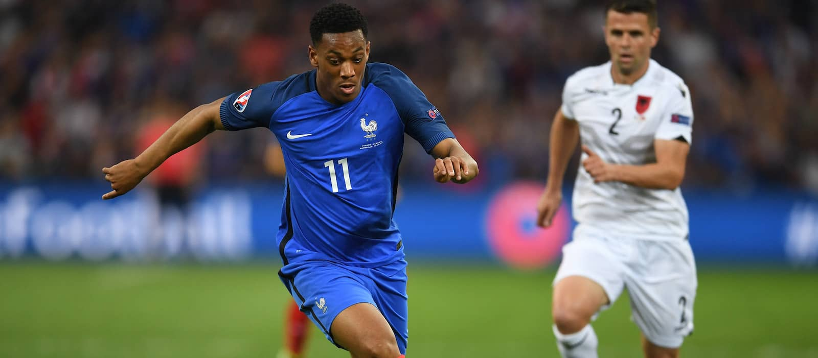 Video: Anthony Martial goal, France 1-0 Italy