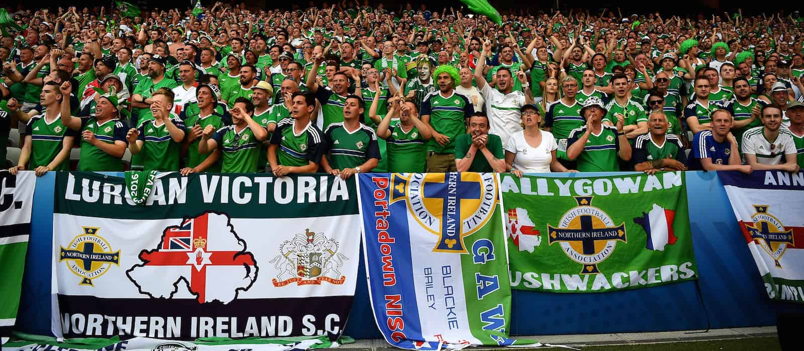 Video: Northern Ireland fans sing Spirit in the Sky chant at Euro 2016