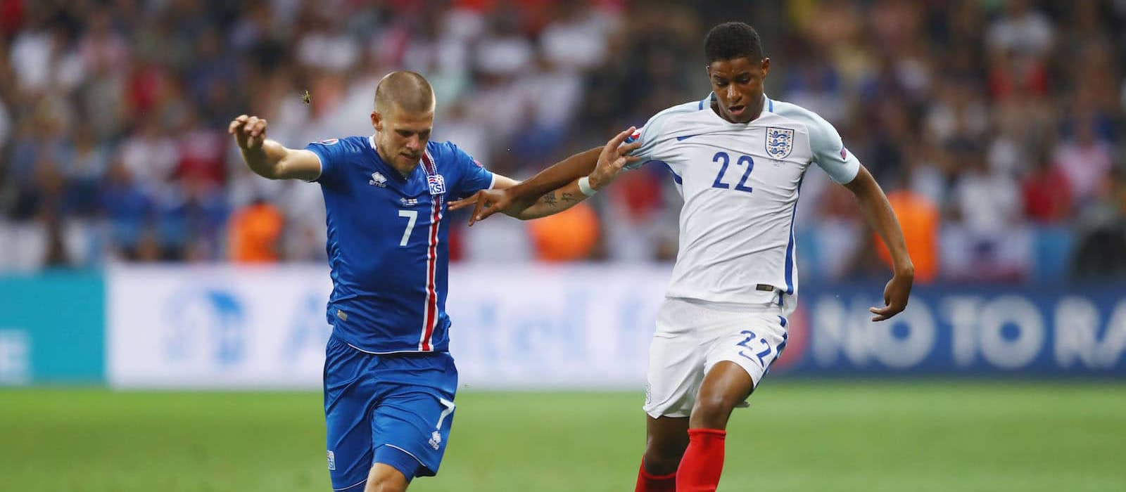 Marcus Rashford was England's best player in Iceland defeat…with 7 minute performance