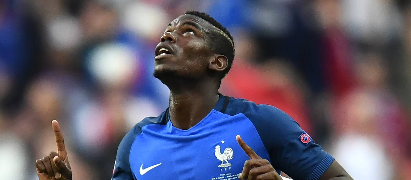 Paul Pogba's agent says reports of Man United meeting are bulls**t