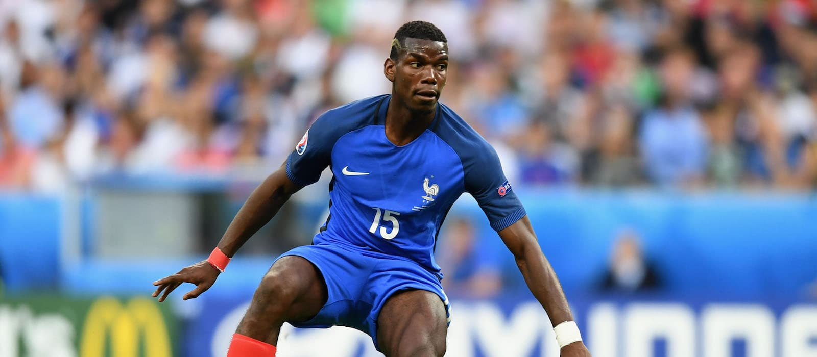 Paul Pogba puts in muted performance in France's Euro 2016 final with Portugal